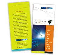 Hosting High Speed Internet Service brochure-templates