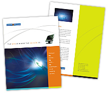 Brochure Templates high speed internet service