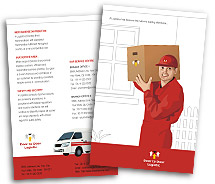 Brochure Templates logistics management