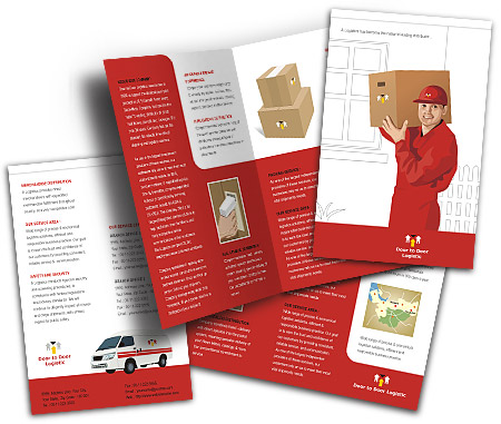 Complete Brochure  View with Layout For Logistics Management