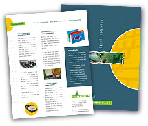 Brochure Templates computer hardware support