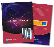Hosting Web Server Hosting brochure-templates