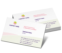 Business Card Templates flower shop