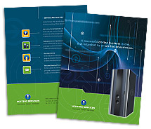 Hosting Server Hosting brochure-templates