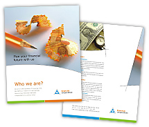 Brochure Templates capital finance services