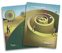 Brochure Templates finance customer services