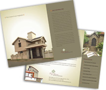 Architecture Building Construction Company brochure-templates