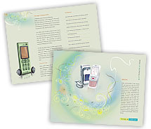 Brochure Templates Communications Mobile Shop