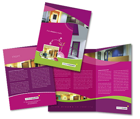 Complete Brochure  View with Layout For Interior Designer