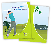 Sports Golf Club brochure-templates