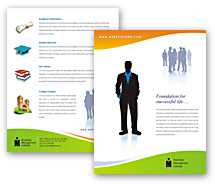 Brochure Templates education institute