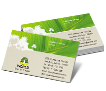 Business Card Templates world tour