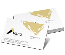 Media Sound Media business-card-templates