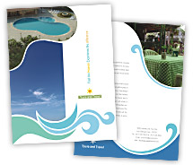 Tours & Travel Travel Tourism brochure-templates