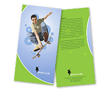 Brochure Templates skate shop
