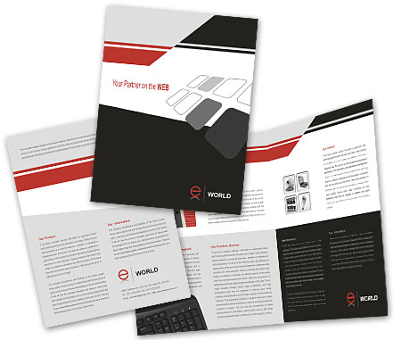 Complete Brochure  View with Layout For Web Solution