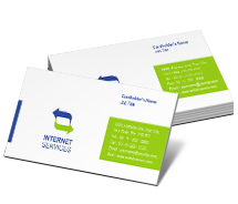 Business Card Templates internet security solutions