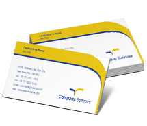 General Road Transport company business-card-templates
