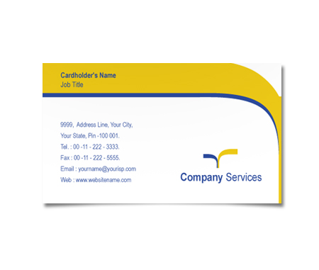 Complete Business Card  View with Layout For Road Transport company