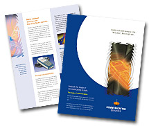 Brochure Templates mobile communication services