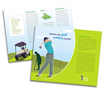 Brochure Templates golf club