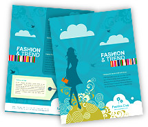 Brochure Templates fashion styles store