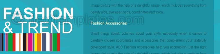 Actual Brochure  Design For Fashion Styles Store
