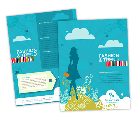 Complete Brochure  View with Layout For Fashion Styles Store