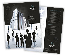 Brochure Templates hosting web server