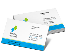 Hosting Hosting and Internet Services business-card-templates