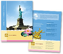 Brochure Templates vacations tours