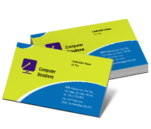 Computers Buying Computer business-card-templates