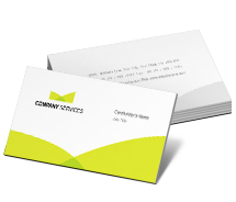 Business Card Templates corporate investment