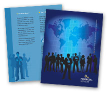Finance Business Finance brochure-templates