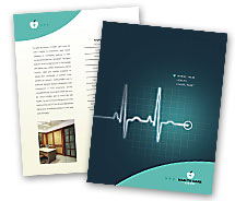 Medical Heart Hospital brochure-templates