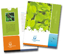 Brochure Templates nature conservation