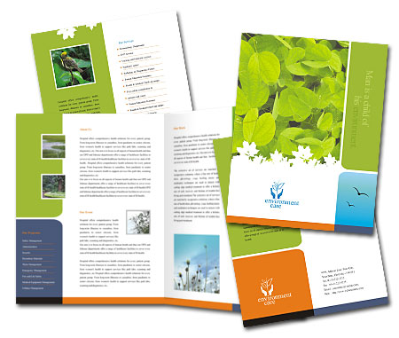 Complete Brochure  View with Layout For Nature Conservation