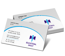 Business Card Templates educational research