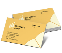 Business Card Templates educational activities