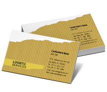 Business Card Templates Logistics Logistics Solutions