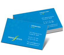 Hosting Cable Internet Service business-card-templates