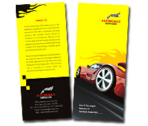 Automobiles Sports Cars brochure-templates