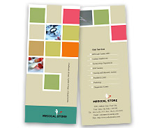 Brochure Templates medical store