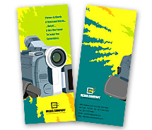 Electronics Digital Camera Accessories brochure-templates