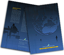 Brochure Templates web hosting company