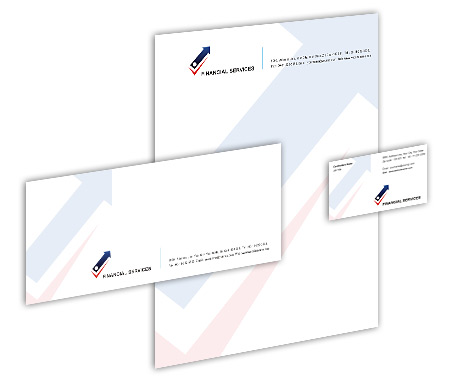 Complete Corporate Identity  View with Layout For Finance Market