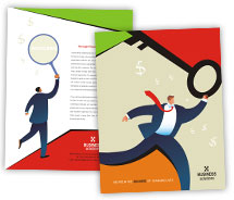 Brochure Templates Finance Business Solutions