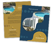 Hotels Family Hotel brochure-templates