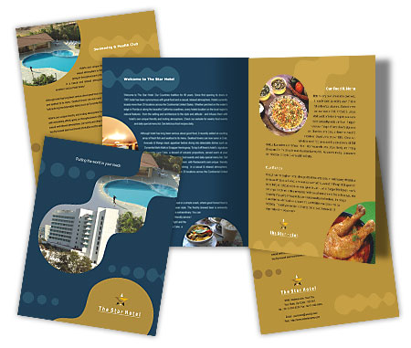 Complete Brochure  View with Layout For Family Hotel