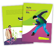 Brochure Templates fashion collection